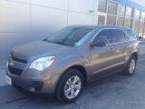 2010 Mocha Steel Metallic Chevrolet Equinox LS #103649021