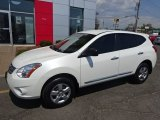 2013 Pearl White Nissan Rogue S AWD #103653338