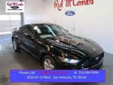 2015 Black Ford Mustang EcoBoost Coupe #103653168