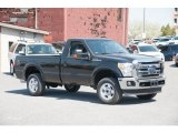 2015 Tuxedo Black Ford F250 Super Duty XLT Regular Cab 4x4 #103653281