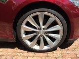 Tesla Model S 2012 Wheels and Tires