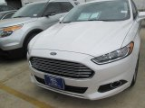 2015 White Platinum Metallic Ford Fusion SE #103674167
