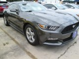 2015 Magnetic Metallic Ford Mustang V6 Coupe #103674166