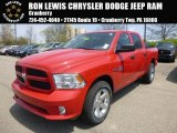 2015 Flame Red Ram 1500 Express Crew Cab 4x4 #103674226