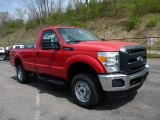 2015 Vermillion Red Ford F250 Super Duty XL Regular Cab 4x4 #103674300