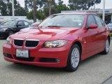 2007 Crimson Red BMW 3 Series 328i Sedan #1016921