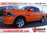 2015 Ignition Orange Ram 1500 Sport Crew Cab #103716533
