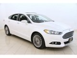 2013 White Platinum Metallic Tri-coat Ford Fusion Titanium AWD #103716653