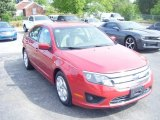 2010 Red Candy Metallic Ford Fusion SE #103716644