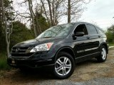 2010 Crystal Black Pearl Honda CR-V EX AWD #103716763
