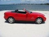 1999 Mercedes-Benz SLK Magma Red