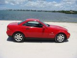 1999 Mercedes-Benz SLK Magma Red