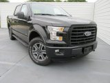2015 Tuxedo Black Metallic Ford F150 XLT SuperCrew 4x4 #103748664
