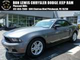 2011 Sterling Gray Metallic Ford Mustang V6 Convertible #103748730