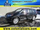 2013 Crystal Black Pearl Honda CR-V EX AWD #103748866