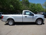 2015 Ingot Silver Metallic Ford F150 XL Regular Cab #103784181