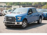 2015 Blue Flame Metallic Ford F150 XLT SuperCrew 4x4 #103784255