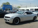 2012 Silver Ice Metallic Chevrolet Camaro LS Coupe #103784173