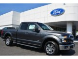2015 Magnetic Metallic Ford F150 XLT SuperCab #103784242