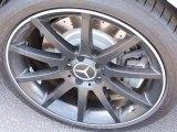 Mercedes-Benz SLK 2012 Wheels and Tires