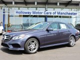 2016 Indigo Blue Metallic Mercedes-Benz E 350 4Matic Sedan #103784377