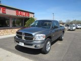 2008 Mineral Gray Metallic Dodge Ram 1500 SLT Quad Cab 4x4 #103784511