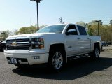 2015 White Diamond Tricoat Chevrolet Silverado 1500 High Country Crew Cab 4x4 #103784031
