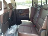 2015 Chevrolet Silverado 1500 High Country Crew Cab 4x4 Rear Seat