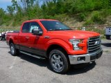 2015 Race Red Ford F150 XLT SuperCab 4x4 #103841575