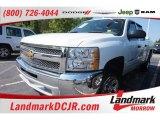 2012 Summit White Chevrolet Silverado 1500 LS Crew Cab #103841626