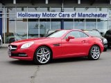 2014 Mars Red Mercedes-Benz SLK 350 Roadster #103841718