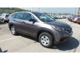 2015 Urban Titanium Metallic Honda CR-V LX AWD #103841546