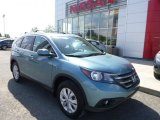 2014 Mountain Air Metallic Honda CR-V EX-L AWD #103869268