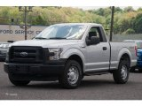 2015 Ingot Silver Metallic Ford F150 XL Regular Cab 4x4 #103869144