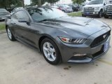 2015 Magnetic Metallic Ford Mustang V6 Coupe #103869030