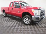 2015 Vermillion Red Ford F250 Super Duty XL Super Cab 4x4 #103903050