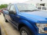 2015 Blue Flame Metallic Ford F150 XL SuperCab #103902748