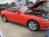 2015 Competition Orange Ford Mustang V6 Coupe #103902737