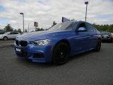 2014 Estoril Blue BMW 3 Series 335i xDrive Sedan #103903022