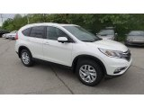2015 White Diamond Pearl Honda CR-V EX-L AWD #103902850