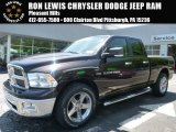 2011 Saddle Brown Pearl Dodge Ram 1500 Big Horn Quad Cab 4x4 #103937906