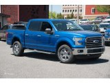 2015 Blue Flame Metallic Ford F150 XLT SuperCrew 4x4 #103937753
