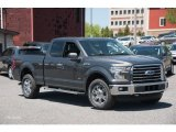 2015 Magnetic Metallic Ford F150 XLT SuperCab 4x4 #103937752