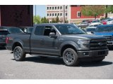 2015 Magnetic Metallic Ford F150 Lariat SuperCab 4x4 #103937751