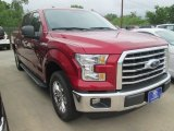 2015 Ruby Red Metallic Ford F150 XLT SuperCrew #103937603