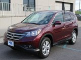 2012 Basque Red Pearl II Honda CR-V EX 4WD #103938045