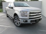 2015 Ingot Silver Metallic Ford F150 Lariat SuperCrew 4x4 #103937810
