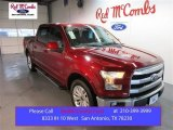 2015 Ruby Red Metallic Ford F150 Lariat SuperCrew #103937599