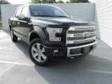 2015 Tuxedo Black Metallic Ford F150 Platinum SuperCrew 4x4 #103937807