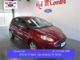 2015 Ruby Red Metallic Ford Fiesta SE Hatchback #103937596